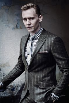 Tom Hiddleston for GQ. Edit by jennphoenix.tumblr