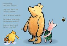 picture of Christopher Robin with quote about doing nothing   Winnie-the-Pooh Quotes