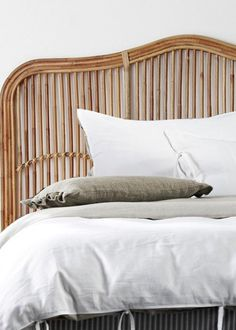 CHIPPENDALE BEDHEAD - Peacock, Peacock chair, Peacock bedroom, Peacock bedside, rattan bedroom, cane bedhead, cane bedside table, cane side table