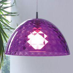 Koziol Stella M Hanging Lamp - Purple
