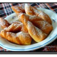 Smažené citronové lístky Czech Recipes, Home Recipes, Pretzel Bites, Biscotti, French Toast, Sweets, Bread, Breakfast, Hampers