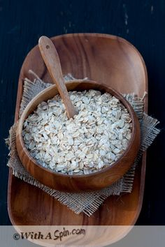 #Oatmeal #photography #raw #ingredients