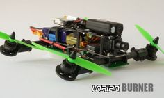 Lorian Burner Compact Racing Drone - Greg Spencer has created a new compact racing drone called the Lorian Burner that has been designed to be both adjustable and adaptable depending on your racing conditions and style of flying.  The Lorian Burner is equipped with the features and adjustment of a professional multirotor that can be adapted as you progress from beginner to seasoned professional. | Geeky Gadgets