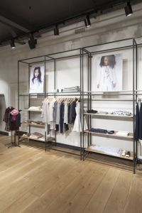 Design showcase: a new store concept for Jigsaw Clothing Store Interior, Clothing Store Displays, Clothing Store Design, Boutique Interior Design, Boutique Decor, Showroom Design, Retail Interior, Interior Windows, Lingerie Store Design