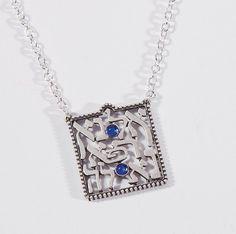 Healing Pendant, Sterling Silver