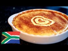This milk tart recipe is so quick to make. This recipe will show you step by step how to make a milk tart. Even though it sets almost as soon as you Shortbread Recipes, Tart Recipes, Dessert Recipes, Desserts, Milktart Recipe, Milk Tart, Tea Time Snacks, South African Recipes, Cookie Crust