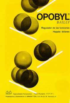 """Graphic Design are advertisements from the magazines """"Clínica Rural"""" and """"Gloss""""  from Spain in the 1950′s -1970′s."""