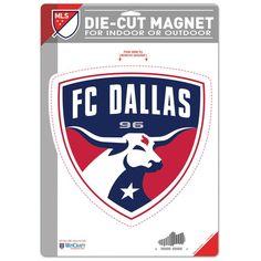 """FC Dallas WinCraft 6.25"""" x 9"""" Die-Cut Logo Magnet"""