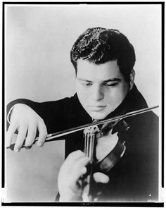 Itzhak Perlman at 18 ~ such an artist - and inspiration!