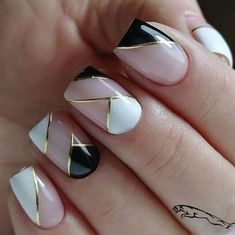 40 Classy Nail Art Design Ideas That Trending This Season - Nail art designs Classy Nail Art, Trendy Nail Art, Stylish Nails, Classy Gel Nails, Beautiful Nail Designs, Cute Nail Designs, Acrylic Nail Designs, Cute Nails, Pretty Nails