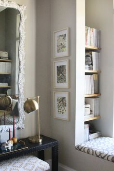Book nook Via little green notebook