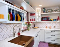 Kitchens With Open Shelves Design, Pictures, Remodel, Decor and Ideas - page 30