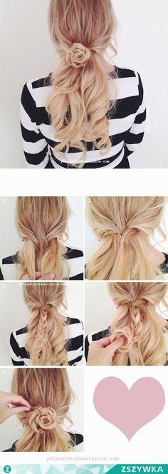 4 tuto coiffures pour votre rencard de ce week-end - Les Éclaireuses
