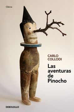 Las aventuras de Pinocho by Carlo Collodi || llustration for cover by Isidro Ferrer