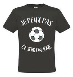 T Shirt Je Peux Pas Ce Soir On Joue