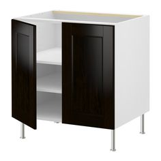 Ikea cabinets for wetbar; ikea also has base trim pieces; can add granite or another stone remnant on top