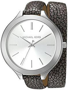 74327929057 Michael Kors Womens Slim Runway Grey Watch MK2475    Click image for more  details.