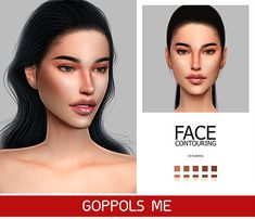 Fix · nose contour sims 4 mac: gpme face contouring by goppols me for the sims 4 Sims 4 Game Mods, Sims Mods, Sims 4 Mac, Sims Cc, The Sims 4 Skin, Sims 4 Pets, Sims 4 Mods Clothes, Nose Contouring, Highlighting Contouring