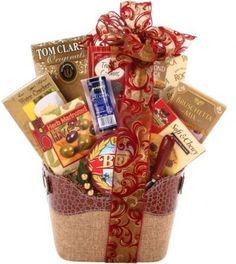 Alder Creek Snack Food Gift Basket 9 Pc Holiday Spirit Gourmet Cookies Snacks #AlderCreekGiftBaskets