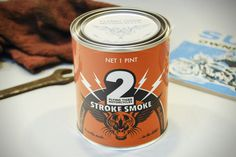 """hotrodzandpinups: """"Scent Candle made to smell like a MACHINE SHOP. Scented with Real Live Stroke Oil with High-Octane Fragrance. Most guys don't spend a whole lot of time exploring their scented candle options. The folks at Flying Tiger Motorcycles..."""