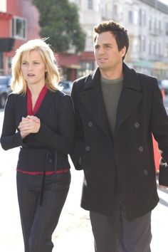 Reese Witherspoon (Elizabeth) and Mark Ruffalo ( David) - Just Like Heaven