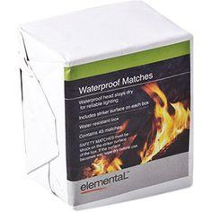 10pk Waterproof Matches