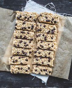 Short and Sweet: Chewy, Chocolate Chip, Coconut Granola Bars {GF, Vegan} and Pecan-Raisin Cinnamon Swirl Bread {Vegan}