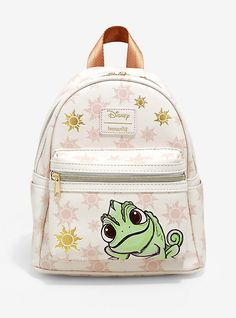 Loungefly Disney Tangled Pascal Sun Mini Backpack Source by hottopic and purses boho Mini Mochila, Cute Disney Outfits, Cute Mini Backpacks, Disney Purse, Disney Handbags, Disney Tangled, Pascal Tangled, Purses And Handbags, Luxury Handbags
