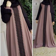 2018 Women Muslim Abaya Long Dress Vintage Long Sleeve Kaftan Islamic Turkish Arabic Appliques Plus Size Muslim Women Fashion, Islamic Fashion, Mode Abaya, Mode Hijab, Niqab Fashion, Fashion Outfits, Modesty Fashion, Hijab Style Dress, Abaya Style