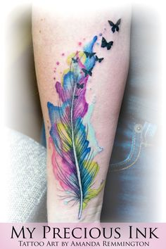 water color feather - Google Search