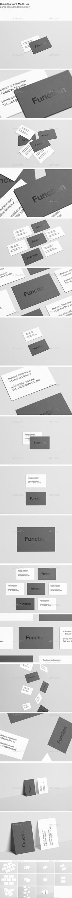 Business Card Mock-Up #design Download: http://graphicriver.net/item/business-card-mockup/12431254?ref=ksioks