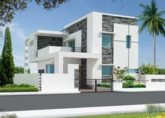 elevations of single storey residential buildings - Google Search