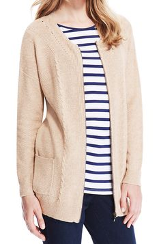Marks & Spencer Ladies Zipped Pointelle Cardigan with Wool UK22 EUR50  MRRP: £39.50 GBP - AVI Price: £17.00 GBP