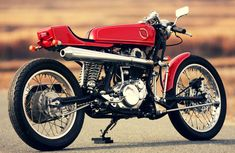 Yamaha SR400 by Skull Motorcycles