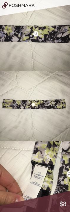 Lululemon Headband Basically new condition. Never wear it anymore. lululemon athletica Accessories Hair Accessories