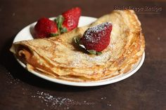 Basic Crepes   Breakfast Crepes ~ Sankeerthanam (Reciperoll.com) Recipes   Cake Decorations   Cup Cakes  Food Photos