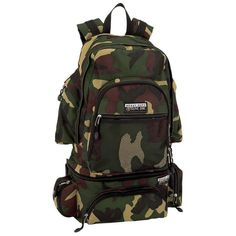 Extreme Pak™ Invisible® Pattern Camouflage Water-Repellent, Heavy-Duty  Backpack Camo 8a4c048132