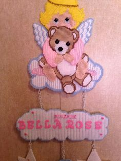 Discover thousands of images about Little angel Nursery Patterns, Baby Patterns, Plastic Canvas Crafts, Plastic Canvas Patterns, Canvas Signs, Canvas Art, Embroidery Patterns, Crochet Patterns, Foto Frame