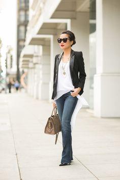 How to style a tuxedo blazer