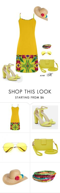 """""""Colorful Fashion Sets"""" by eva-kouliaridou ❤ liked on Polyvore featuring JustFab, Relic and Capelli New York"""