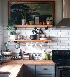 Dreamy kitchen space // @liz_kamarul