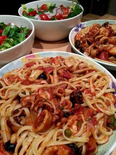 Slimming World Delights: Slow Cooked Squid and Shrimp with Fennel
