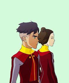 Kai and Jinora