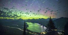 Auroras, la Vía Láctea y la Galaxia de Andrómeda desde Letonia – El Universo Hoy