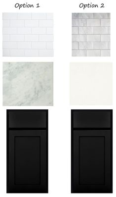 Cottage Kitchen cabinet countertop backsplash options