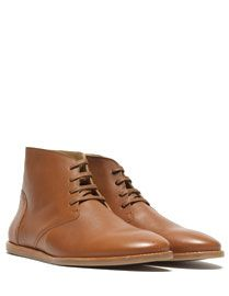 Mens Must-have shoes --> Johnny Hi - Camel Leather from Wednesday Whiskey #fashionhunters #wednesdaywhiskey #trending