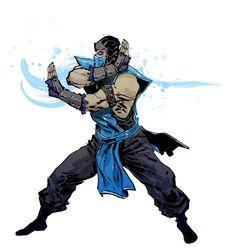 Mortal Kombat: Sub-Zero // artwork by Anjin Anhut Video Game Movies, Video Game Art, Video Games, Escorpion Mortal Kombat, Mortal Kombat X Wallpapers, Claude Van Damme, Kid Goku, Medvedeva, Future Soldier