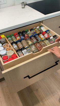 Kitchen Cupboard Designs, Kitchen Room Design, Diy Kitchen Storage, Home Room Design, Kitchen Cupboards, Modern Kitchen Design, Home Decor Kitchen, Interior Design Kitchen, Kitchen Ideas