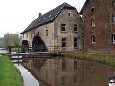 De molen in Wijlre, Limburg