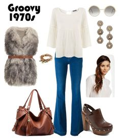 """70's"" by keila-87 on Polyvore featuring moda, STELLA McCARTNEY, Mint Velvet, PINGHE, Cutler and Gross, Farylrobin, Noir, Vanhi, Lizzy James e Dorothy Perkins"